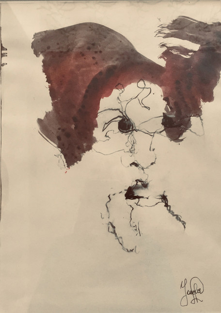 One shot-Une femme expressive