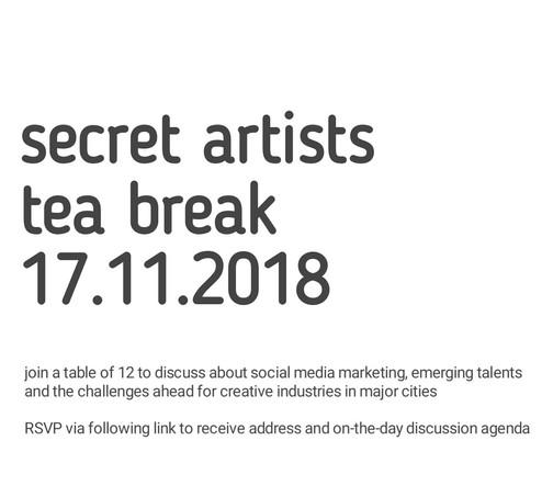Secret Artists Event November 2018