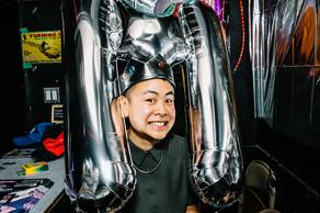 Production Designer @Paddy_leung. Photo by Connie Tsang