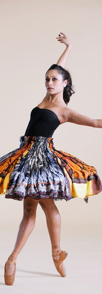 First Soloist, Tina Pereira wearing tutu by JUMA. Photo by Ryan Chan for the National Post.