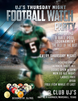 Thursday Night Football Watch Party