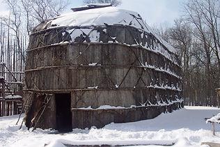 Long house in the snow at Kanata.jpg