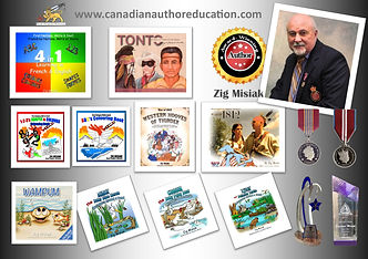 Zig Misiak Canadian author new poster.jp