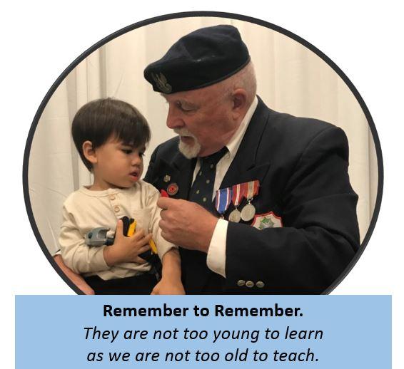 asher and grandpa remembrance day