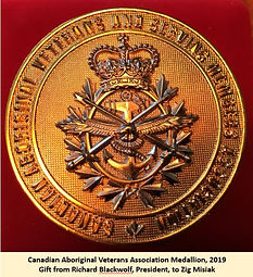 medallion from Aboriginal Vets 2019.JPG