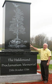 Haldimand Monument Six Nations Oct 2010.