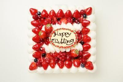 ケーキ四角
