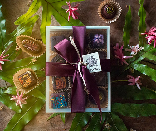 Frosted Edge Gift Box