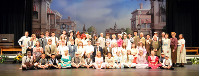 THE CAST OF THE MUSIC MAN