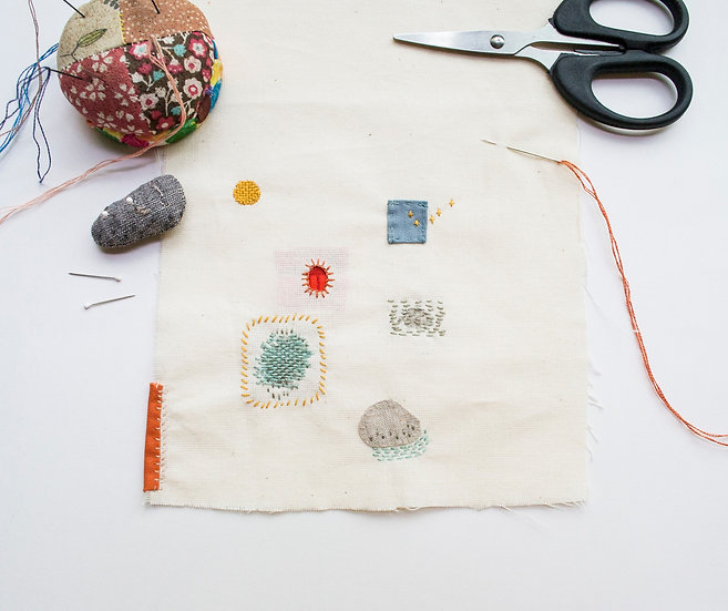 EMBROIDER-MENDING WORKSHOP - SAT 19 DEC 3-6pm
