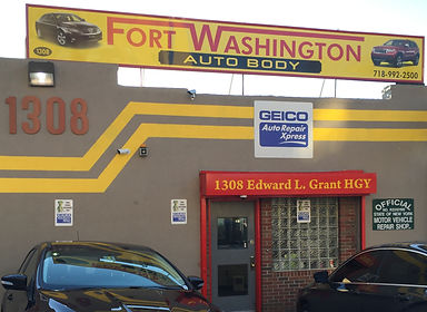 Fort Washington Auto Body and Collision, Bronx New York | New York City's Premier Auto Body Repair Facility