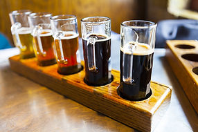 Craft Beer Flights - Ready for tasting - 41 Pints of Beer