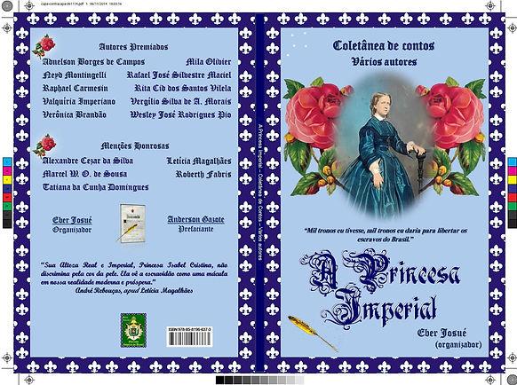 Capa da coletânea de contos 'A Princsa Imperial'.