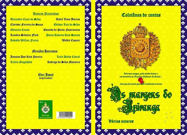 Capa da coletânea de contos 'Às margens do Ipiranga'.