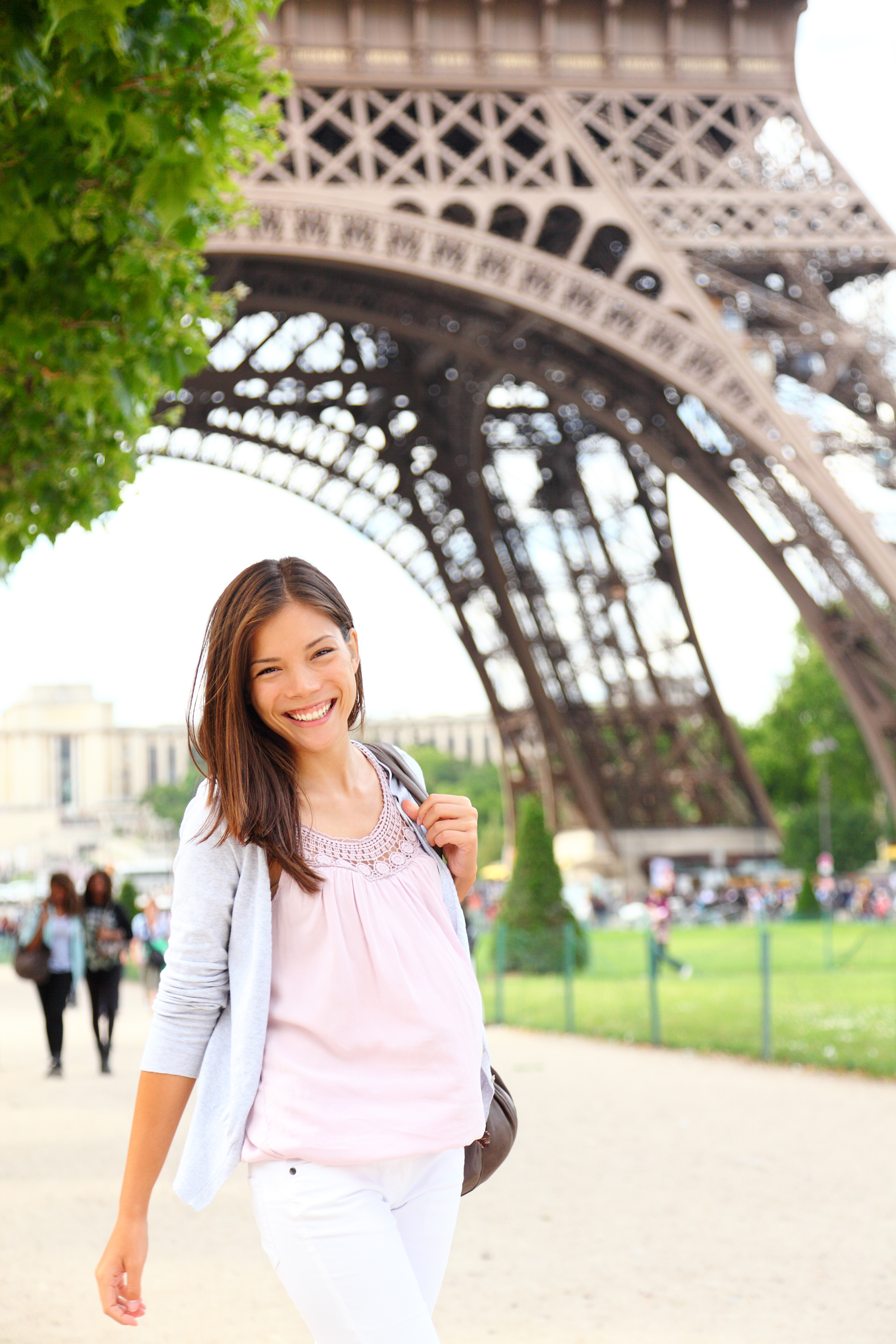 Paris Woman By Eiffel Tower.jpg
