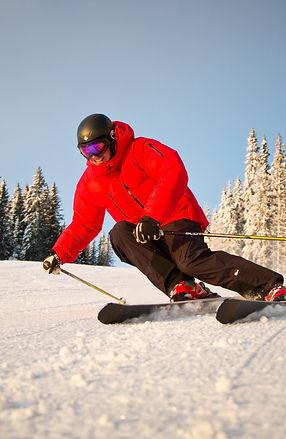 Last minute skiing