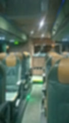Corporate coach hire with courier service