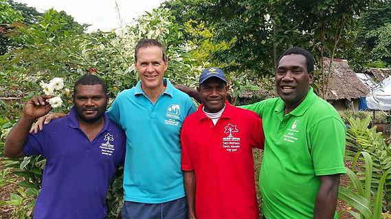 Our Australian and Ni-Vanuatu Team