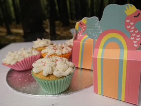Fabulous flamingo party Lemon Cupcakes