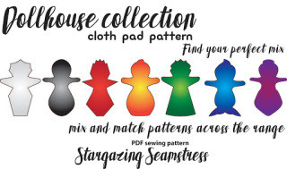 Dollhouse Collection pattern release