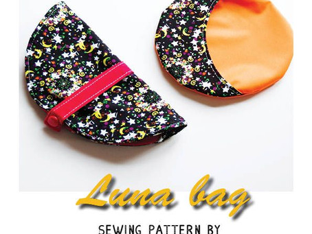 New pattern release! Luna wetbag