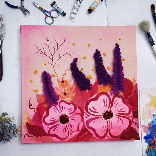 Lavender field awakening