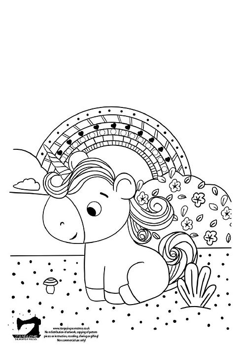 Unicorn colouring by stargazing seamstress-01.jpg