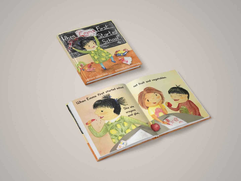 children's book comission