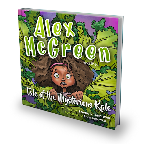 HARD COVER: Alex McGreen and the Tale of the Mysterious Kale