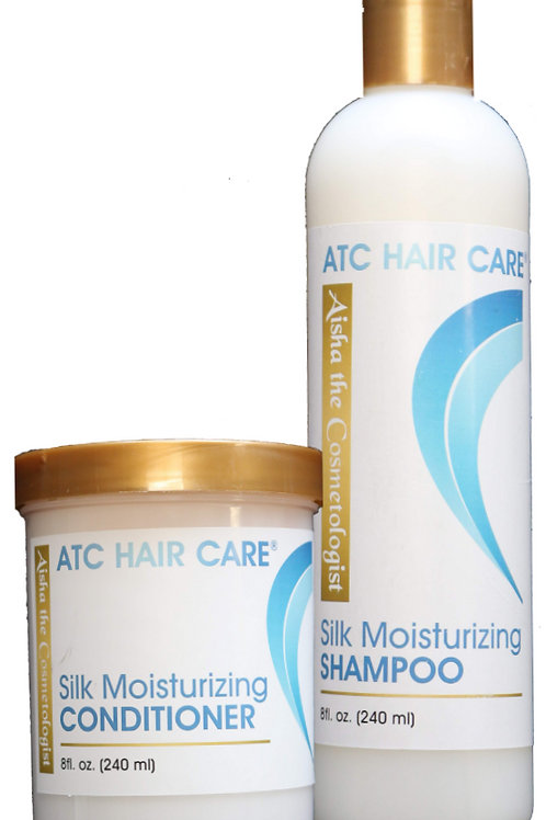 ATC Silk Moisturizing Shampoo & Conditioner