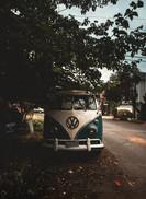 Weinlese-Reisemobil