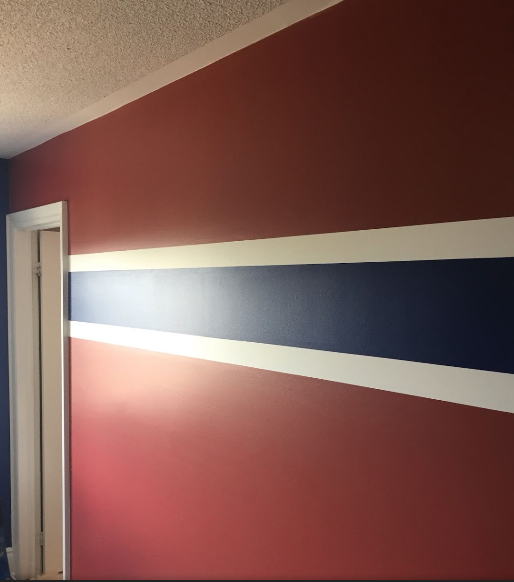 cb painting room stripe