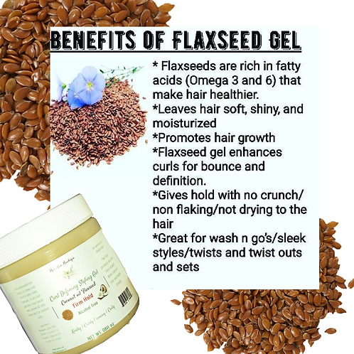 Curl Defining Coconut 🥥 Flaxseed Gel