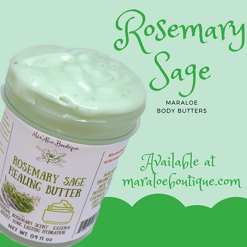 Herbal Edition Rosemary And Sage body butter