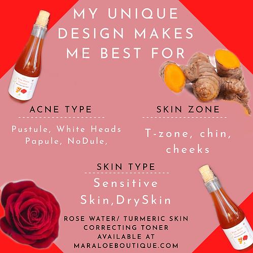 Rose Water /Turmeric Skin Toner