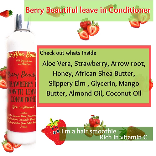Berry Beautiful Leave In Conditioner