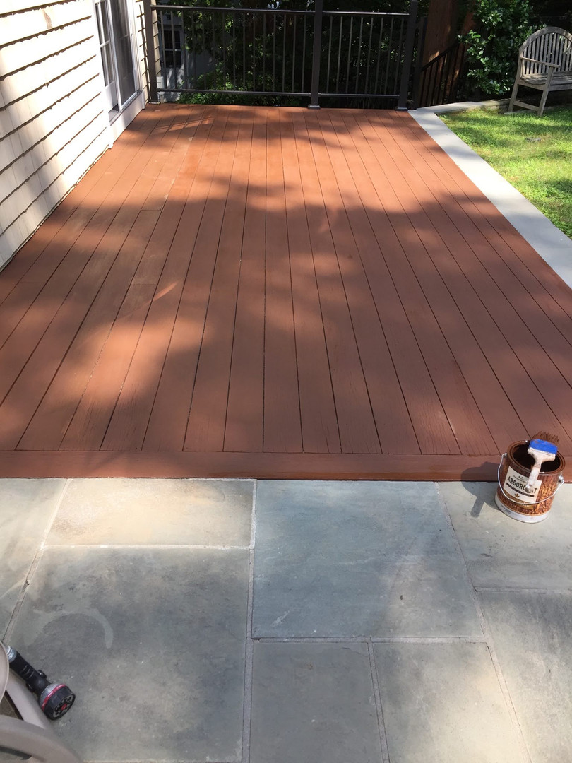OUTDOOR DECK- AFTER