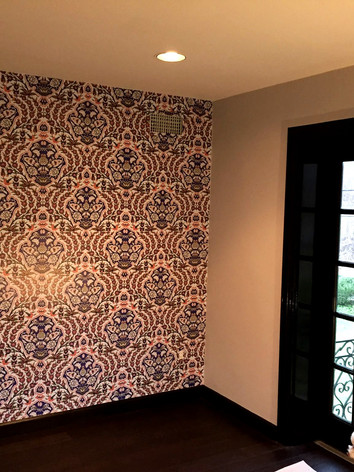 WALLPAPER ON ACCENT WALL