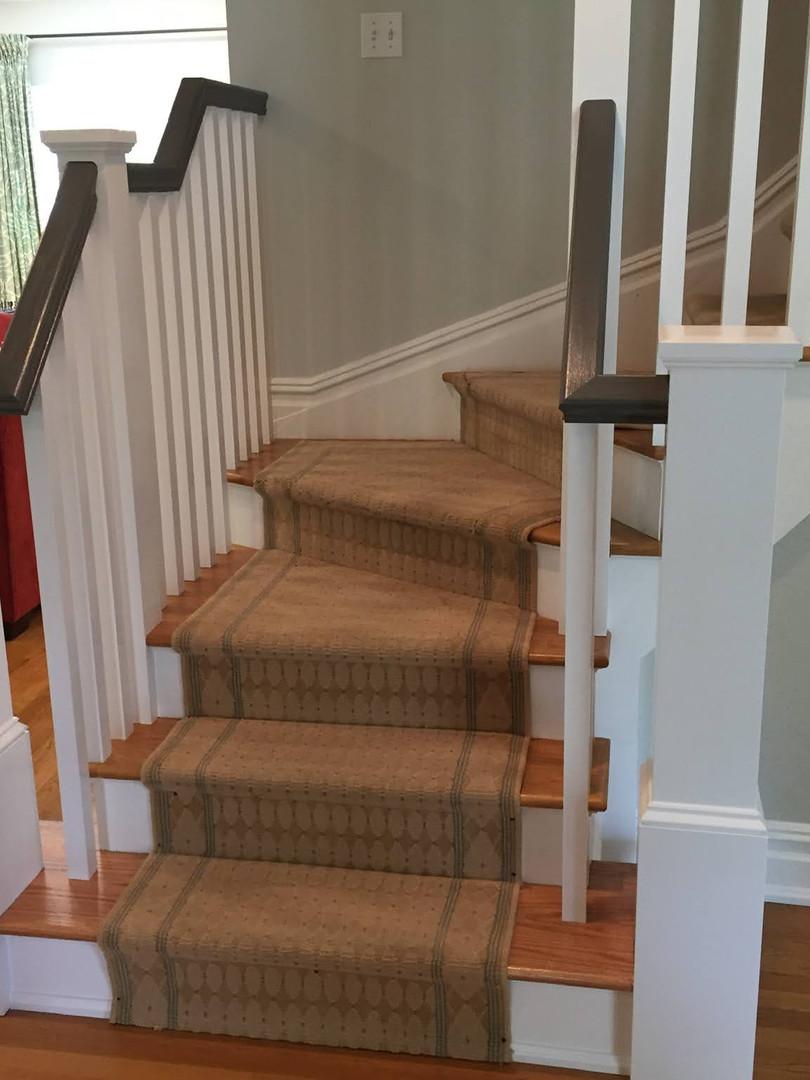 UPDATED STEPS & RAILING
