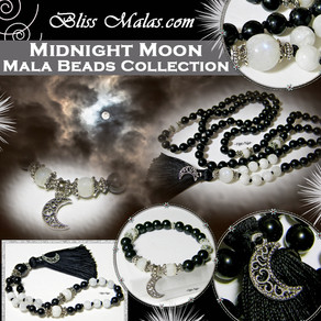 New Release - Exclusive Midnight Moon Mala Beads Collection!