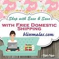 bliss malas free domestic shipping
