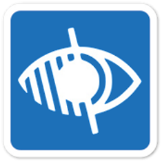 Audio guide icon for the visually impair