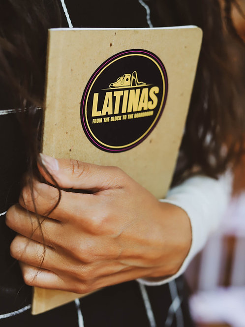 Sticker-Latinas From The Block To the Boardroom