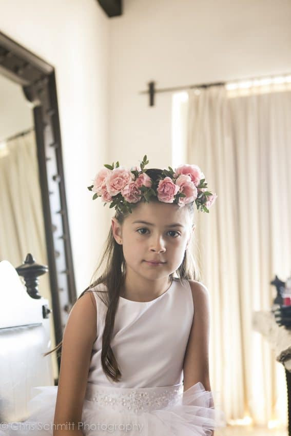 Cabo Azul Flower girl