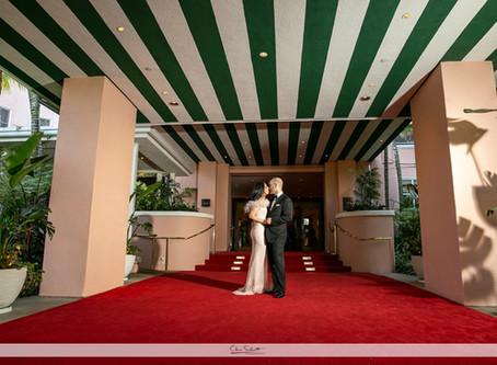 Jessica and Edward| Beverly Hills Hotel Wedding|Sneak Peek