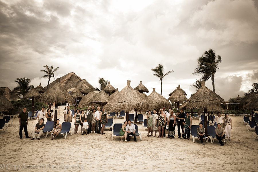 Gran Bahia principe akumal Wedding Photography