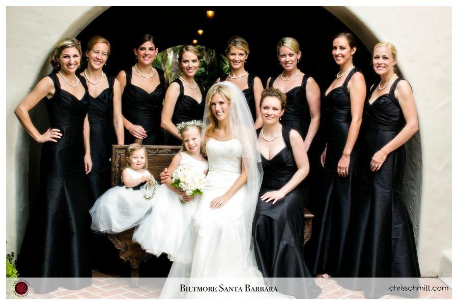 Wedding Party 4 Seasons Santa Barbara