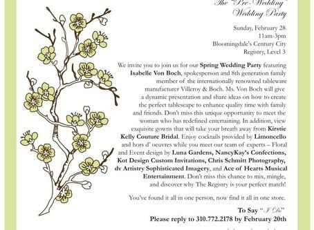 Bloomingdales Bridal Show|Los Angeles