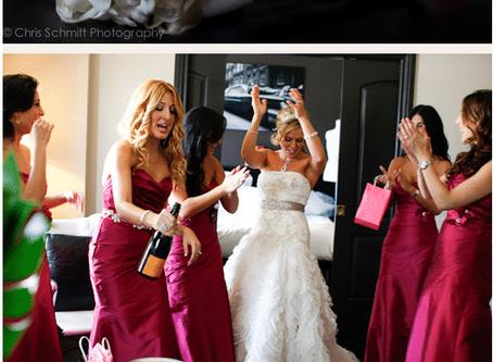 Persian Wedding Photos featured in Ceremony Magazine