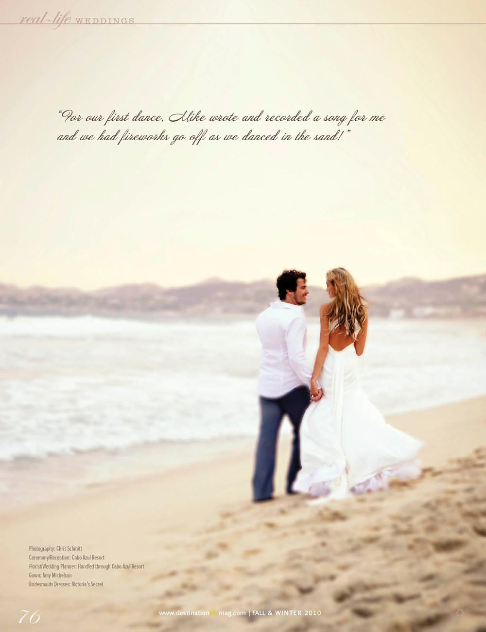 cabo azul wedding photography